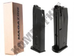 KJ Works M9M Airsoft Gun Magazine Green Gas M9 M92 Handgun GBB Black Metal